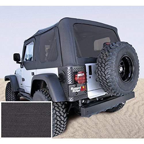 Rugged Ridge 13724.15 XHD Soft Top, Black Denim,...