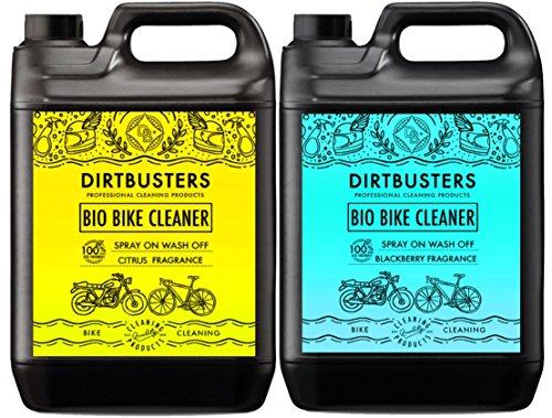 Bio Bike Cycle motorfietsreiniger 2 x 5 liter braambes en citrus met microben en enzymen, krachtig, milieuvriendelijk