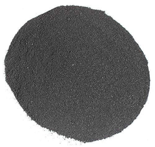 Lisaro Boxsackfüllung Gummigranulat | 25kg Schwarz – Füllungsmaterial Made IN Germany | Dummy-Füllung – Maisbirne-Füllung – Ringerpuppen-Füllung (Fein)