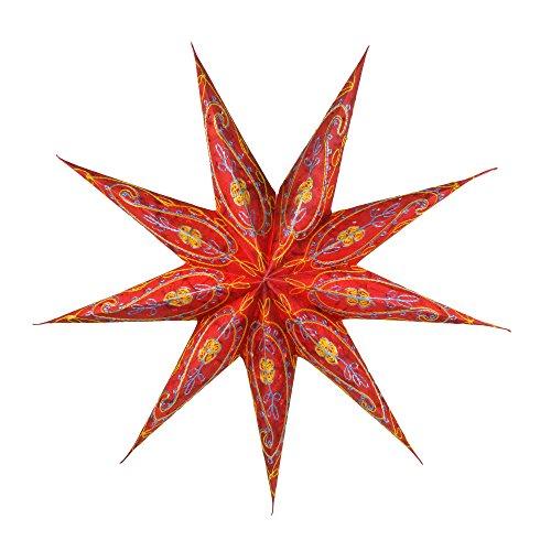 Papierstern / Weihnachtsstern Stella rot / Papierstern Premium 9