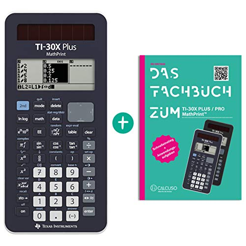 TI-30X Plus MathPrint + Fachbuch