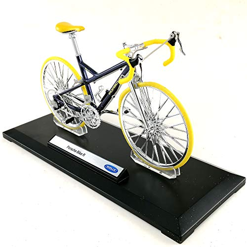 Welly Porsche Bike R 1:10 Scale Bicycle Die-cast Model Toy Hobby Collection Sport Bike Collectible New in Window Box