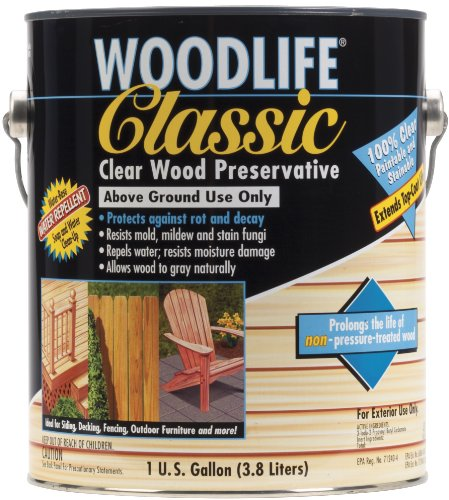 Rust-Oleum Corporation Zinsser 00903 Clear Wood Preservative