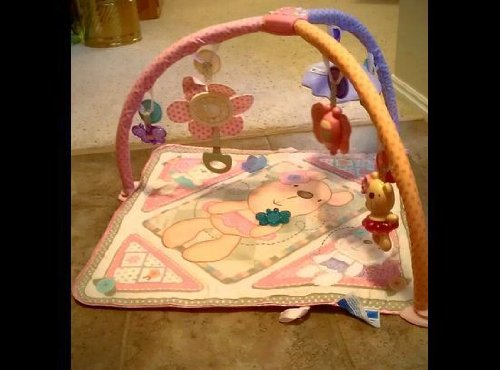 Fisher-Price - R4748 - Eveil - Tapis - Tendre Ourson - Rose