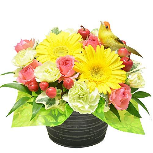 エルフルール お花が選べる おまかせアレンジメント (ガーベラ)
