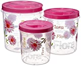 Made of food grade virgin plastics Airtight container keeps food fresh for longer hours Organise your kitchen better in classy and smart way Complete solution to all your kitchen storage needs Package Contents: 1-Piece Plastic Container (5 litre), 1-...