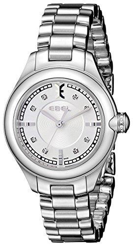 Ebel Mujer 1216092Onde Reloj de Acero Inoxidable con Diamond marcadores por Ebel