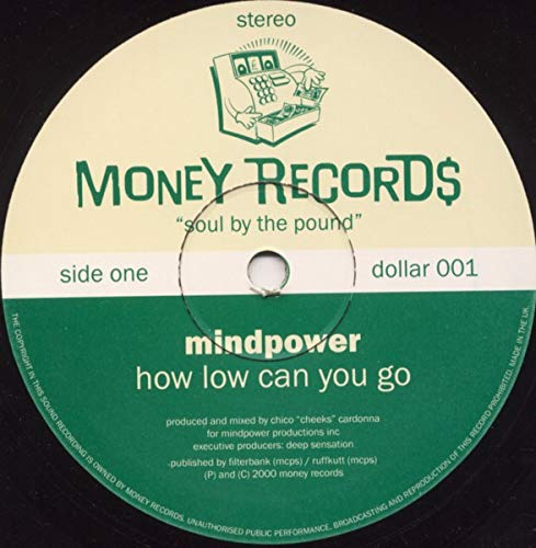 Mindpower - How Low Can You Go / Can't Forget You - Money Records