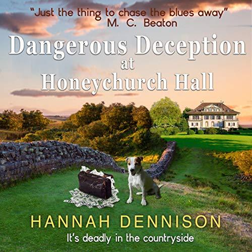 Dangerous Deception at Honeychurch Hall audiobook cover art