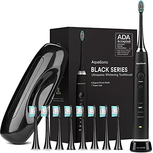 AquaSonic Black Series Ultra Whitening Toothbrush – ADA...