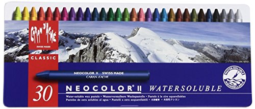 Caran d'Ache Neocolor II Artists' Crayons (30 Colors Set)