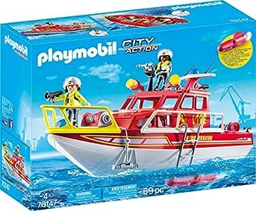 PLAYMOBIL- City Action Figuras y Juegos de contrucción, Color carbón (70147)