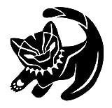 CCI Simba Black Panther Decal Vinyl Sticker|Cars Trucks Vans Walls Laptop| BLACK |5.5 x 5.5 in|CCI1612