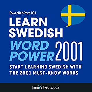 Learn Swedish - Word Power 2001 audiobook cover art