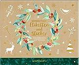 Stickerbuch - Weihnachtliche Etiketten und Sticker: Zum Dekorieren und Verzieren