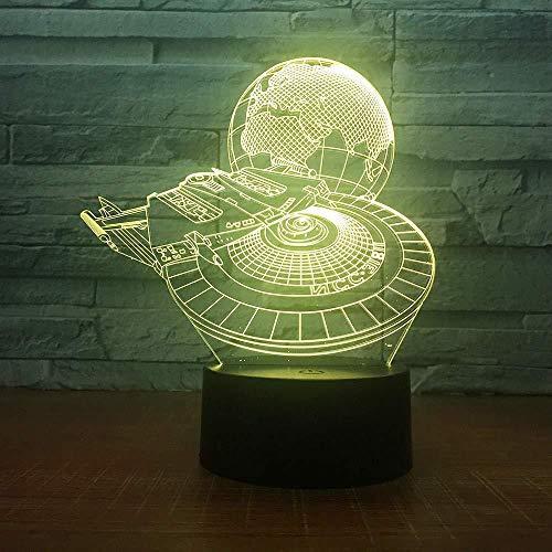 Lampe 3D Led Garçon Chambre Night Light Decor Bulbing Kids Kids Kids Gift