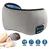 YAGAIU - Mascherina per Gli Occhi Senza Fili Bluetooth con Cuffie Intelligenti per Il Sonno