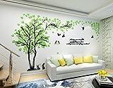 Alicemall 3D Adesivi Murali Wall Sticker Forma Albero Adesivi da Parete in Acrilico Forest...