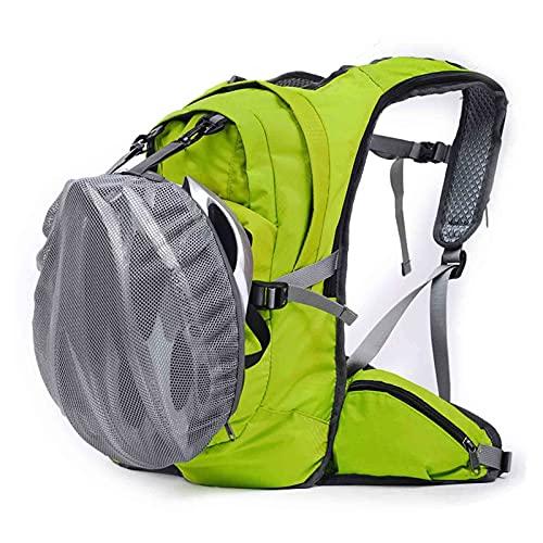 JYGHM Mochila para Bicicletas, Mochila Deportiva al Aire Libre 20L Impermeable, Bolsa de cinturón de Hombro con Casco, para Caminatas al Aire Libre, Ciclismo, Camping