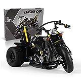 Juego De Construcción De Motocicletas Technic, Juego De Construcción De Motocicletas, Bloques De 853 Piezas Compatibles con Lego, El Modelo De Construcción No Es Creado por Lego
