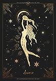 Acuario: Cuaderno de notas | Signo de Horóscopo de Acuario | 120 páginas rayadas | Diseño elegante