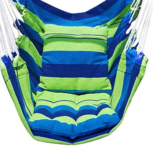 Gaorb040703 Outdoor Outdoor Leisure Swing Chair Indoor Rocking Chair Hammock Seat Travel Camping Hammock Garden Leisure Bed Camping accessories (Color : 02)