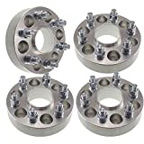 4x 1.50' Hubcentric 6x139.7 Wheel Spacers | 6x5.5 fits Toyoto 4 Runner Pickup FJ Cruiser Isuzu Rodeo Trooper 6 lug 38mm
