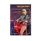 YUANZHIG Taylor Swift Show Gitarristen Musiker Poster