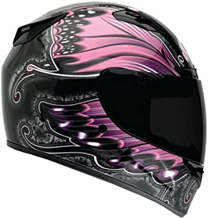 Bell Monarch Women's Vortex Street Bike Motorcycle Helmet - Pink / 2X-Large