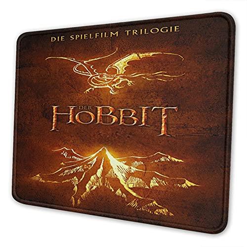 Hobbit Mouse Pad de 10 x 12 pulgadas, cómoda alfombrilla de ratón, alfombrilla de ratón de escritorio, oficina, aprendizaje, juego