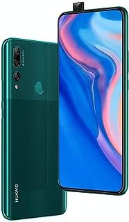 "Huawei Y9 Prime 2019 (128GB, 4GB RAM) 6.59"" Display, 3 AI Cameras, 4000mAh Battery, Dual SIM GSM Factory Unlocked - STK-LX3, US & Global 4G LTE International Model (Emerald Green, 128 GB) (Renewed)"