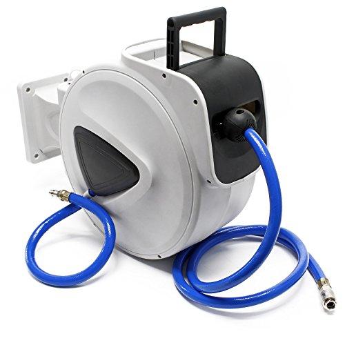 Tambor manguera aire comprimido rodillo carrete automático