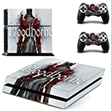 Juego Bloodborne Ps4 Stickers Play Station 4 Skin Ps 4 Sticker Decals Cover para Playstation 4 Ps4 Consola y controlador Skin Vinyl