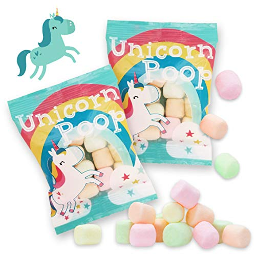 Unicorn Poop Candy - Made in the USA - Unicorn Party Supplies - Unicorn Birthday Party Favors for Kids - Bulk Candy Packs for Classroom