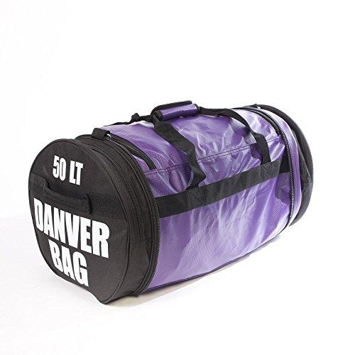 Danver Total Carbon, Bag Bolsa de Deporte Unisex Adulto, Unisex Adulto, Total Bag Carbon, Violeta, L