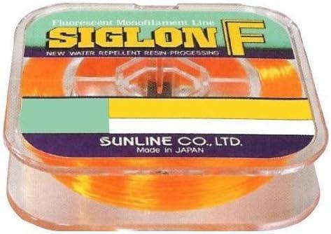 Sunline 63000730 Siglon F Fluorescent Line Max 55% Discount mail order OFF Orange 25 lb Fishing