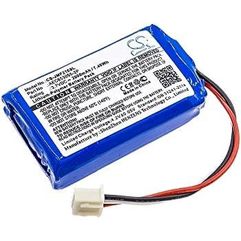 2000mAh Battery Replacement for JBL Flip II  2013  Flip 2  2013  AEC653055-2P  3.7V