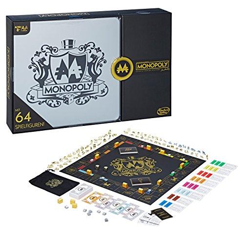 Hasbro Spiele C0729100 - Monopoly 64-Token Pack, Familienspiel