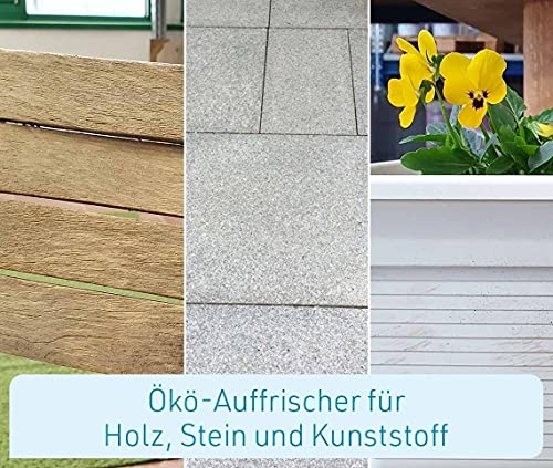 Mediashop Freshmo Set | 2 Stück mit Bürste | Öko-Auffrischer für Holz, Stein, Kunststoff | Pflege | Das Original aus dem TV - 3