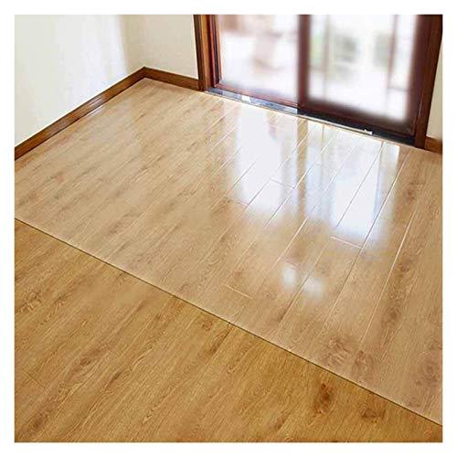 LSSB Protector de Mesa de PVC Impermeable PVC Claro/Transparente Vidrio Blando Antideslizante Anti-rasguños Mantel para casa Oficina Cocina Gabinete de TV, Personalizable