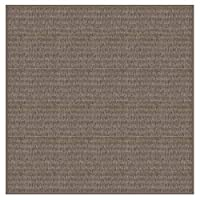 Kane Carpet Caravan インドア/アウトドア エリアラグ4色と複数のサイズと形状から選択可能(6フィート正方形、ヘーゼル)