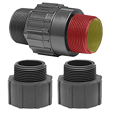 Superior Pump 99555 Universal Check Valve, Plastic, Fits all 1-1/4-Inch or 1-1/2-Inch MIP or FIP from Superior Pump