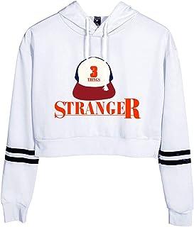 SERAPHY Trendy Television Series Hoodies New Season Crop Top Hooded Sweatshirts High Waist Hoodies for Girls/Women