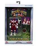 BANDAI Figura Auto Morphin Power Rangers Best of, 40290, Rojo Blanco