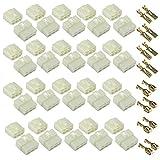 6,3 mm 2 3 4 6 pines Way Kits de conectores de cable eléctrico automotriz 3,6 mm macho hembra enchufe terminal para motocicleta (6 pines Way 20 Set)