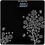 QUIXXLY Electronic Thick Tempered Glass & LCD Display Digital Personal Bathroom Health Body Weight Scales For Body Weight, Weight Scale Digital For Human Body, Weight Machine For Body Weight