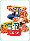 Calendario perpetuo Coca-Cola: Yippee! Food and Coke
