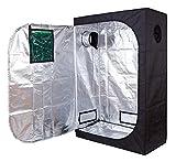 TopoLite 48'x24'x72' w/Observation Window Grow Tent Room Reflective Mylar Indoor Garden Growing Room Hydroponic System