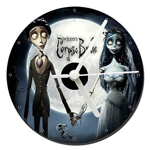 MasTazas La Novia Cadaver Corpse Bride Tim Burton B Reloj CD Clock 12cm