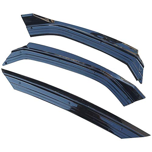 Spoiler divisor de protección Fit For VW Polo Tope Delantero Del Divisor Lip Spoiler Delantero Difusor Frontal Pala Fit For...